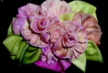 Ribbonwork & Silk Ribbon Embroidery! / by Mary Jo Hiney