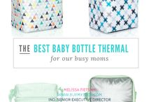 Baby by Thirty-One / There's an entire line of baby products for all your baby needs! Diaper bags, stroller bags, baby bottle thermals, classy diaper bags, back packs, personalized baby pillows and room decor. Check it out and shop at www.buymybags.com #DiaperBags #StrollerBags #BabyBottleThermals