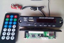 Rakitan Kit Usb Mp3  Fm Stereo Player (Model Panjang)