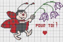 Cross Stitch Lady Bug