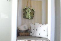 mudroom / coat closet ideas