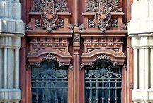 Puertas y rejas guay / Puertas de viviendas especiales y rejas de artesanía