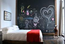 Chalkboard Walls / by Mosby Building Arts
