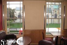 Commercial Window Film - Commercial Window Tinting / Commercial window film installations carried by Twilight Tint qualified staff.