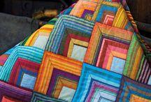 Quilts tissus unis
