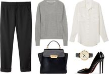 Casual and comfy autum/winter outfits