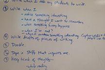 CWP Writer's Notebooks