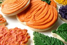 Fall / Fall Cookies | Autumn Cookies | Leaf Cookies | Thanksgiving Cookies