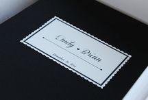 instant camera wedding albums