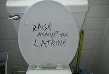 Rage Against the Latrine / Fun and Cute Bathroom Stuff! :D  (Yes, It's Possible!)