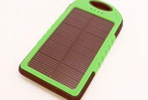 Gadgets y Electrónica / Gadgets y electrónica los cuales utilizan energías renovables para el ahorro energético (solar, fotovoltaica,propulsión humana