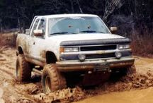 Mud, Trucks, & Cowboys / by Katie Foss