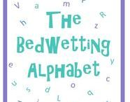 The Bedwetting Alphabet / This August, we're writing our own Bedwetting Alphabet!  The Bedwetting Alphabet will be full of tips, advice, information and facts about bedwetting.  Keep checking this page to see new letters appear, or receive daily updates by following us on Twitter (@BedwettingDoc) and see if you can spot all the letters from A to Z!