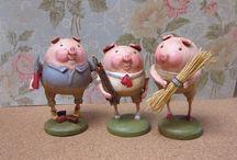 Art - Here piggy