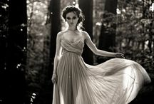 Long dress shoot