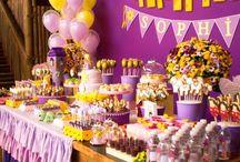 festa enrolados rapunzel