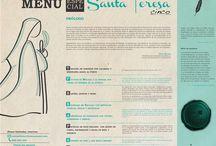 Menú especial Santa Teresa / Menú especial basado en la historia de Santa Teresa