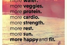 go healthy / workouts, food, smoothies, yoga, workout clothes everything healthy   / by Alexsis Sorice