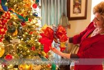 Christmas Trees by Show Me Decorating / Christmas Tree's your home's largest Christmas Decoration. How to Decorate for Christmas, DIY for you your home http://app.showmedecorating.com