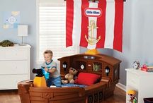 Boys rooms / by Stephanie Salanger O'Leary
