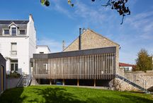 extension d'une maison à meudon (92) / extension contemporaine bois