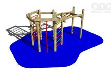 Climbing Frames / Check out our durable, safe and fun timber climbing frames, suitable for a range of ages and available in a variety of designs.