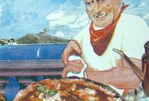Cartoni della Pizza / Una board dedicata a questa peculiare forma d'arte