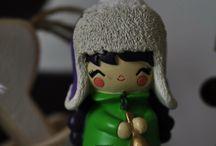 Winter wonderland❄️⛄️ / #momiji #winter #bywonderland #dolls