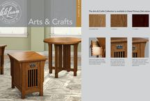 ARTS AND CRAFTS / Building on the enduring legacy of the American Arts and Crafts movement, this collection is characterized by meticulous craftsmanship and attention to detail