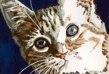 Peintre (Lori Alexander) / Chats