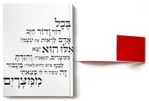 Book / New American Haggadah / © by Oded Ezer http://odedezer.com