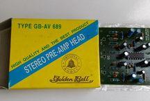 LA3220 IC SANYO untuk preamp Headtape dan Mic