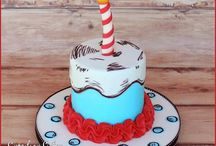 Dr. Suess Cakes