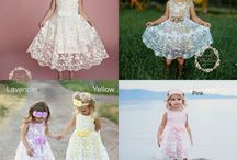 Flower girl dress inspiration