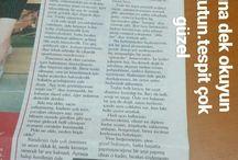 Gazete  Yazıları