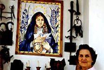 Debora Arango / Débora Arango fue una pintora expresionista y acuarelista colombiana.  Fecha de nacimiento: 11 de noviembre de 1907, Medellín, Colombia Fecha de la muerte: 4 de diciembre de 2005, Medellín, Colombia Libros: Débora Arango: el arte, venganza sublime,