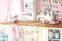 Pastel Kitchen / by Heather Bishop