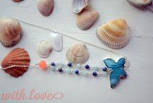 Handmade Necklace / На этой доске представлены ожерелья, колье и кулоны ручной работы из натуральных камней и серебра.