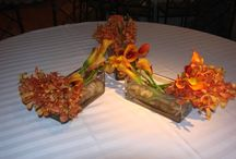 Latest Styles / An assortment of the latest styles of floral designs and flower arrangements.