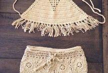 shorts chrochet