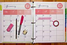 diy planner / agendas