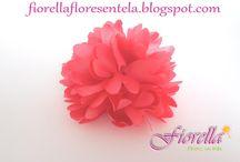 Flores con moldes