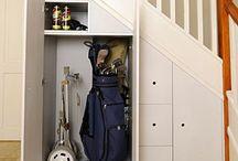 stair pantry storage