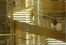 Staircases - Scale / Spiral staircases primarly in crusieships.  Scale a chiocciola in navi da crociera