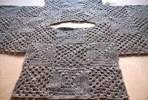 μπλούζα με μοτιφ crochet
