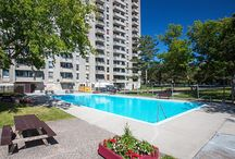 The Oaks / Choose The Oaks for excellent value and convenience. Utilities are included, and getting around Ottawa is easy, with major bus routes and roadways nearby. These apartments are finished with gleaming hardwood floors and have ample storage. The Oaks also has an outdoor pool and a 24 hour laundry room. This property is part of the Ottawa Crime Free Multi-Housing Program and the Certified Rental Building (CRB) Program, which means you can rent with confidence.  Come make The Oaks your home!