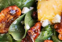 SALADS / Pineapple Spinach Salad