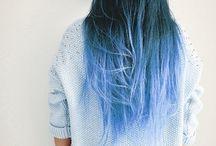 gradient hair
