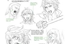 manga facial expressions