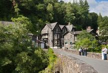 Betws Y Coed / The Gateway to Snowdonia and the beautifuil home of Anna Davies.
